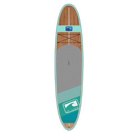 Blu Wave - The Woody 10.6 - Sea Foam Bamboo SUP - Surf Ontario