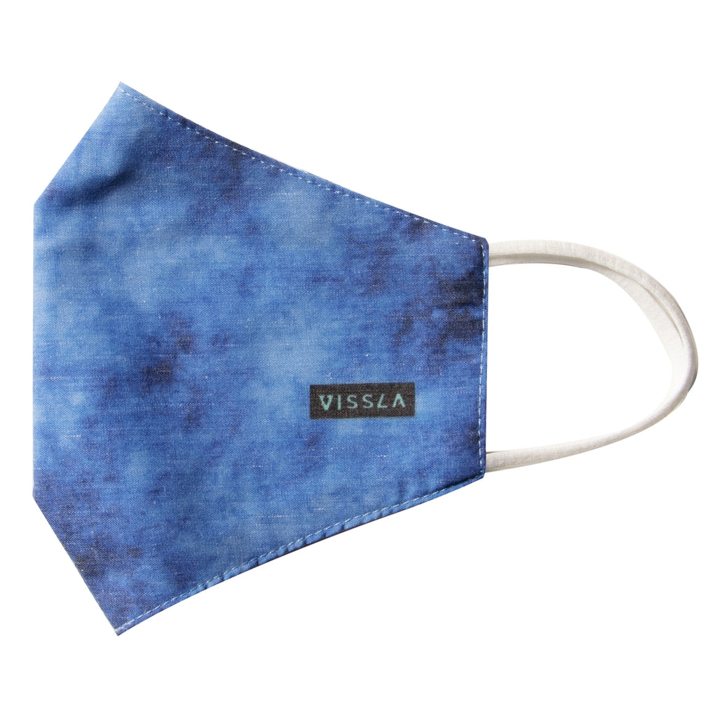 Vissla Face Mask - Blue Wash Heather/BWH - OS