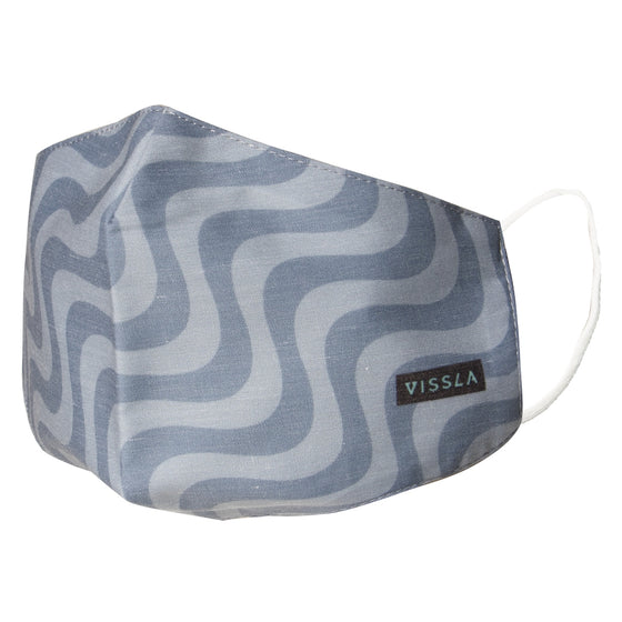 Vissla Face Mask - Grey Heather/GRH - OS