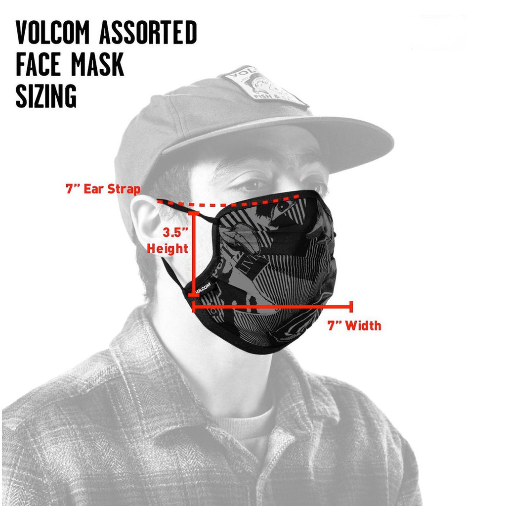 Volcom Face Mask - Black
