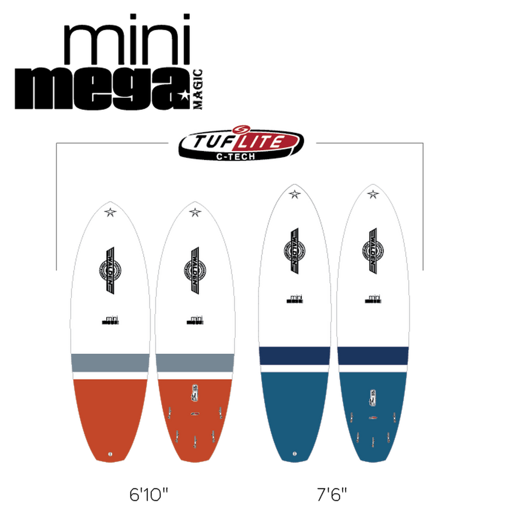 Walden 6'10 Mini Mega Magic Tuflite