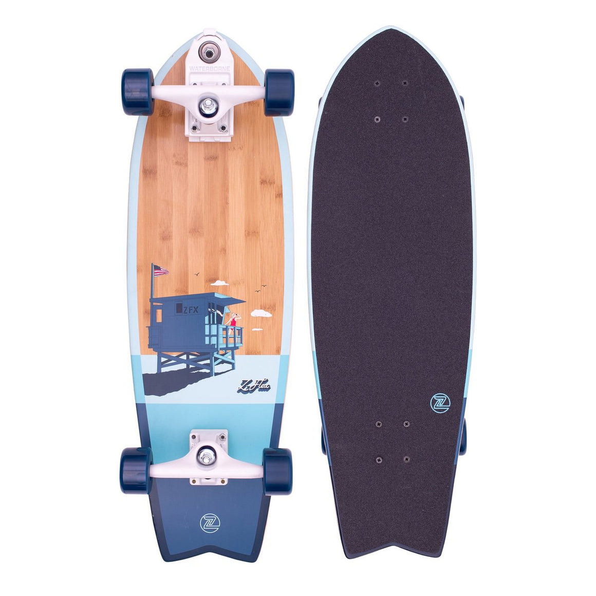 Z-Flex - Bamboo Surfskate Fish