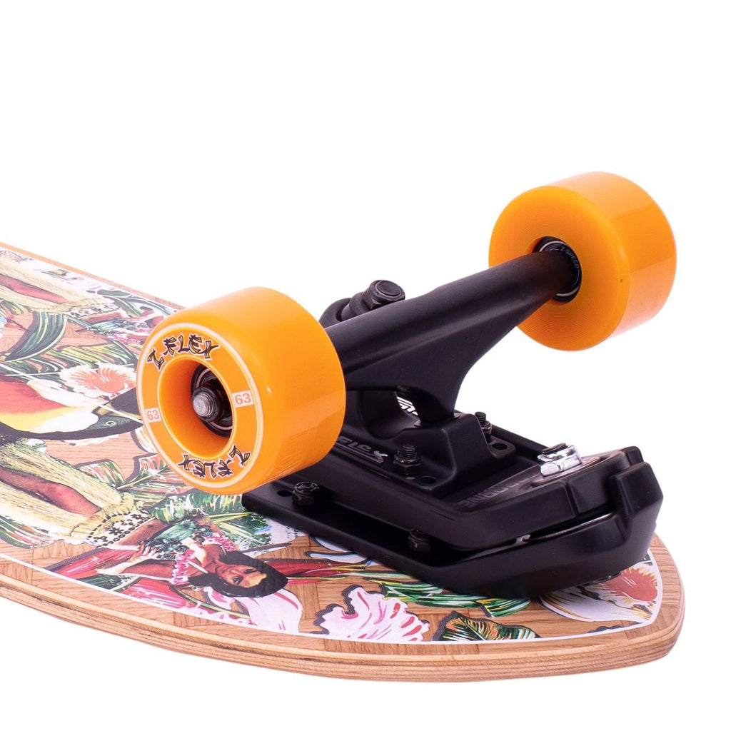Z-Flex - Banana Train Surfskate Fish