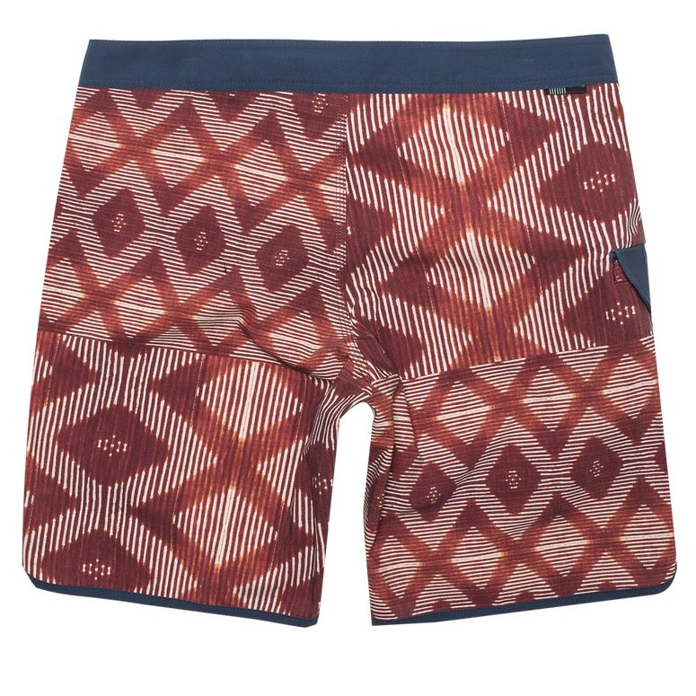 "Boardshorts - Vissla Sumbawa 20"" Red Bolt - Surf Ontario"