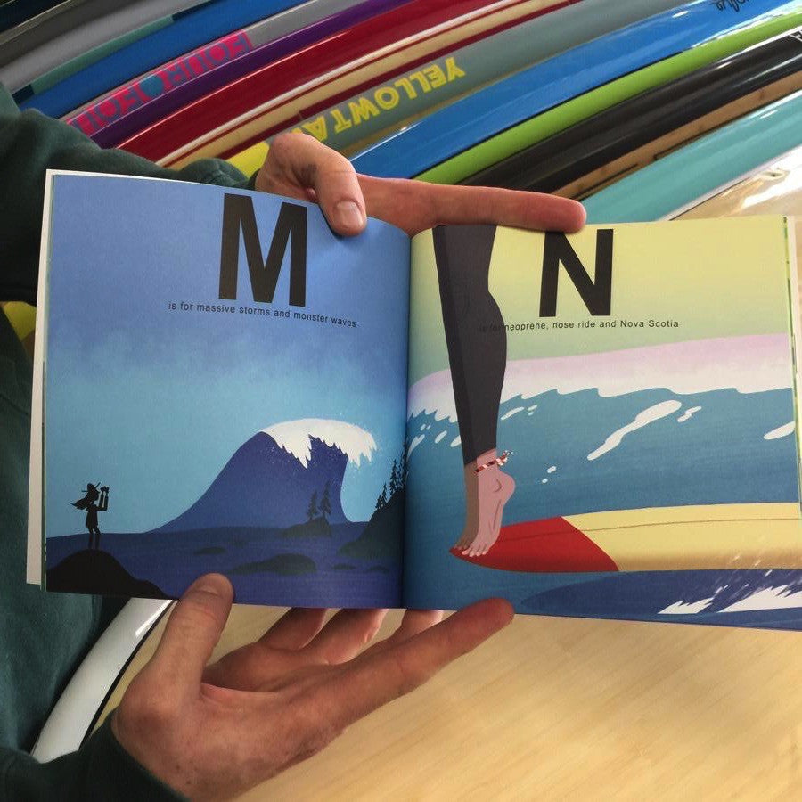Books - S IS FOR SURFING - THE ABCS OF SURFING IN CANADA - Surf Ontario
