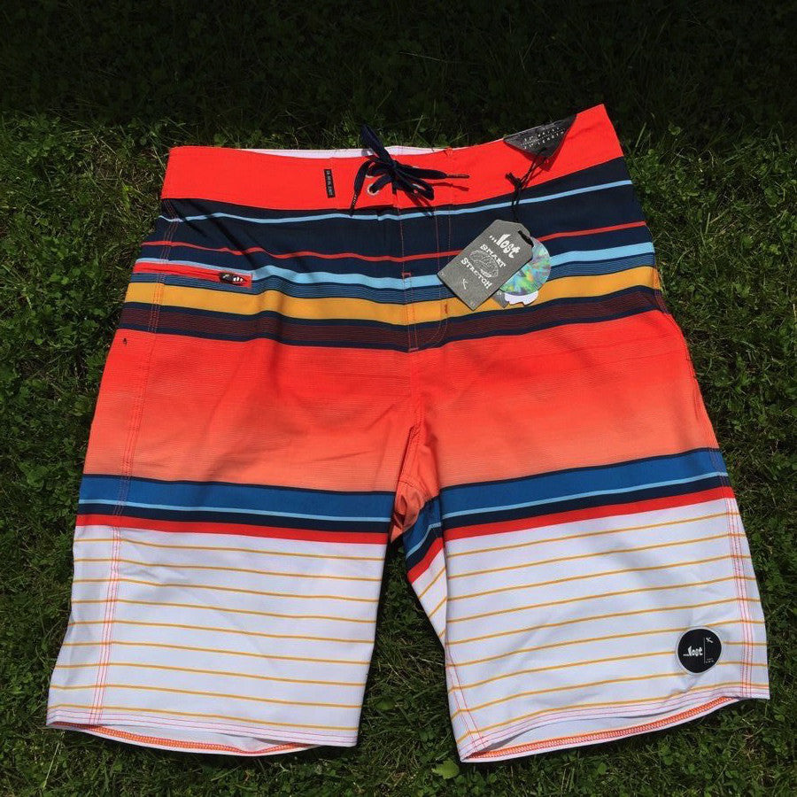Boardshorts - Lost Horizon Orange - Surf Ontario