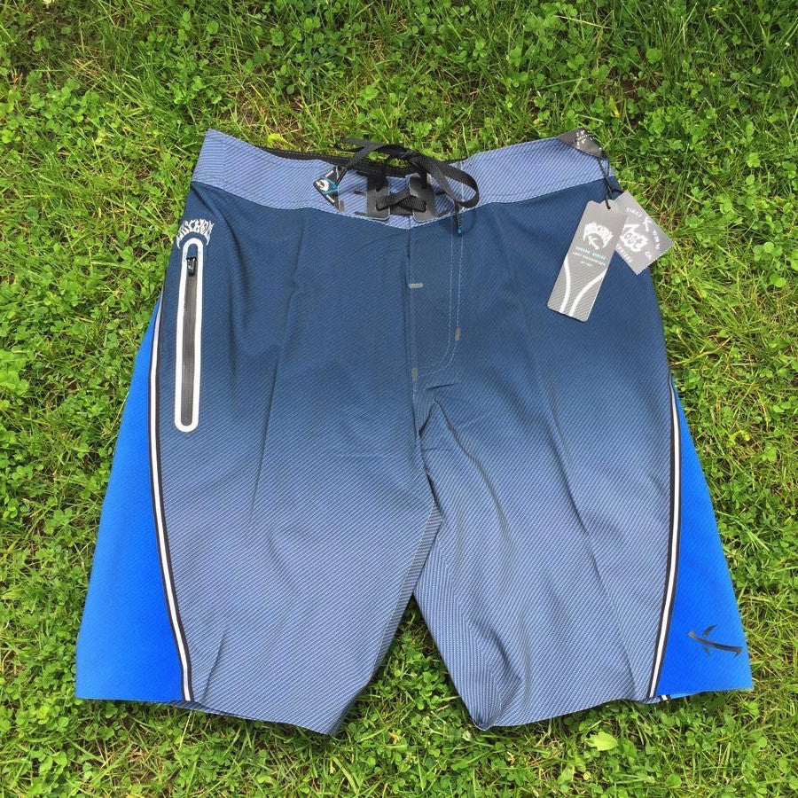 Boardshorts - Lost Black Dart Fade - Dark Blue