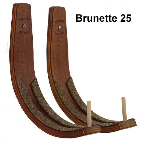 Board racks - Hawaiian Gun Rack - Blonde and Brunette colours - Surf Ontario