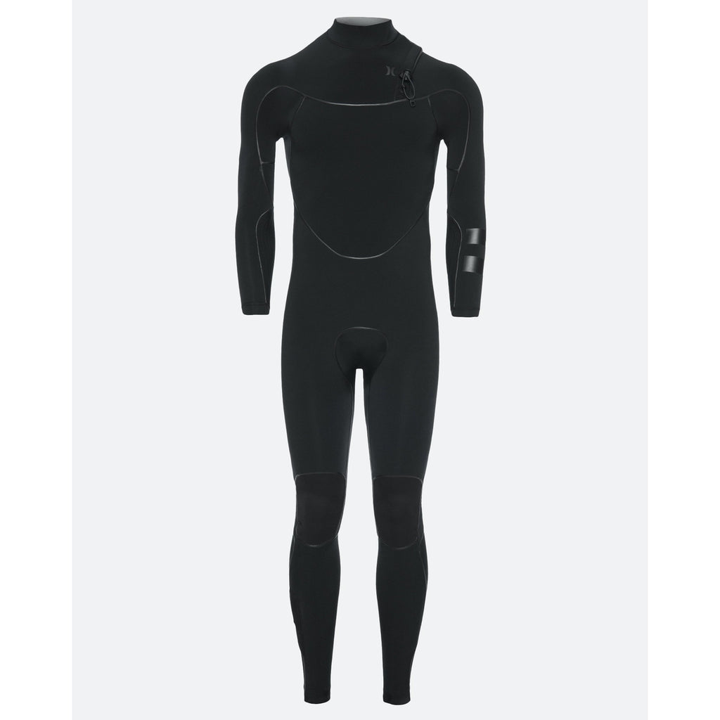4/3 Men's Hurley Advantage Max Zipperless Fullsuit - Obsidian 451