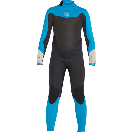 3/2 Boy's Billabong Absolute Comp Back Zip Fullsuit - Surf Ontario