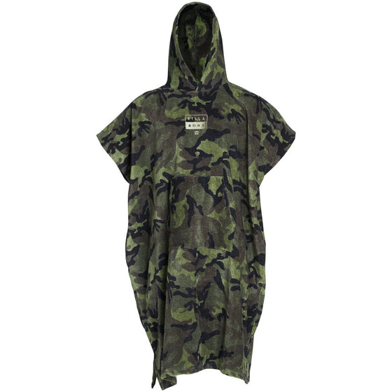 Changing towel - Boys Poncho Towel - Camo - Surf Ontario