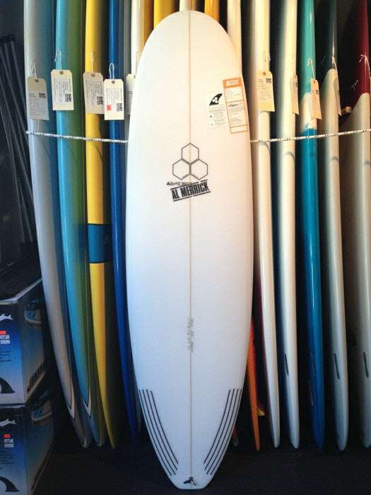 Channel Islands Hoglet 6'1 - 5 fin FCS2  - Clear finish - Surf Ontario