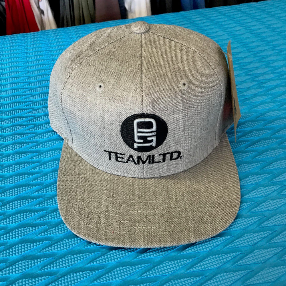Caps - Team LTD - Black on Heather Grey - Surf Ontario