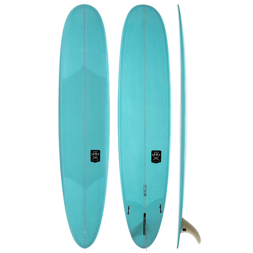 Creative Army -  9'1 Five Sugars Double Stringer - poly - Blue