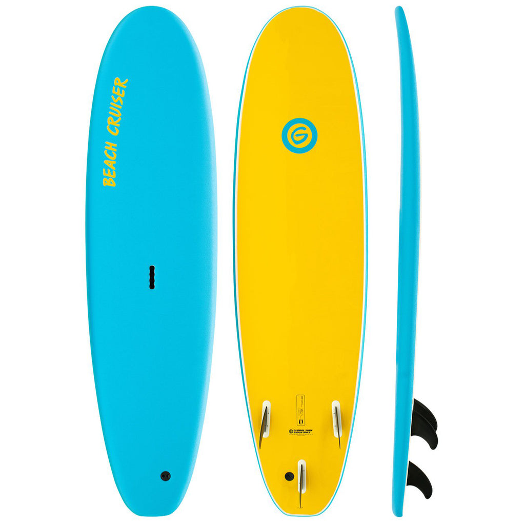 Gnaraloo - 7'0 Beach Cruiser Blue / Yellow