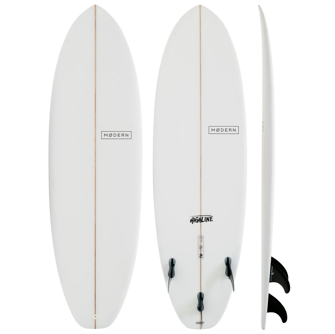 Modern Highline 6'2 PU Clear