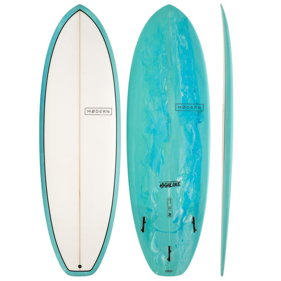 Modern Highline 6'4 PU Sea Tint