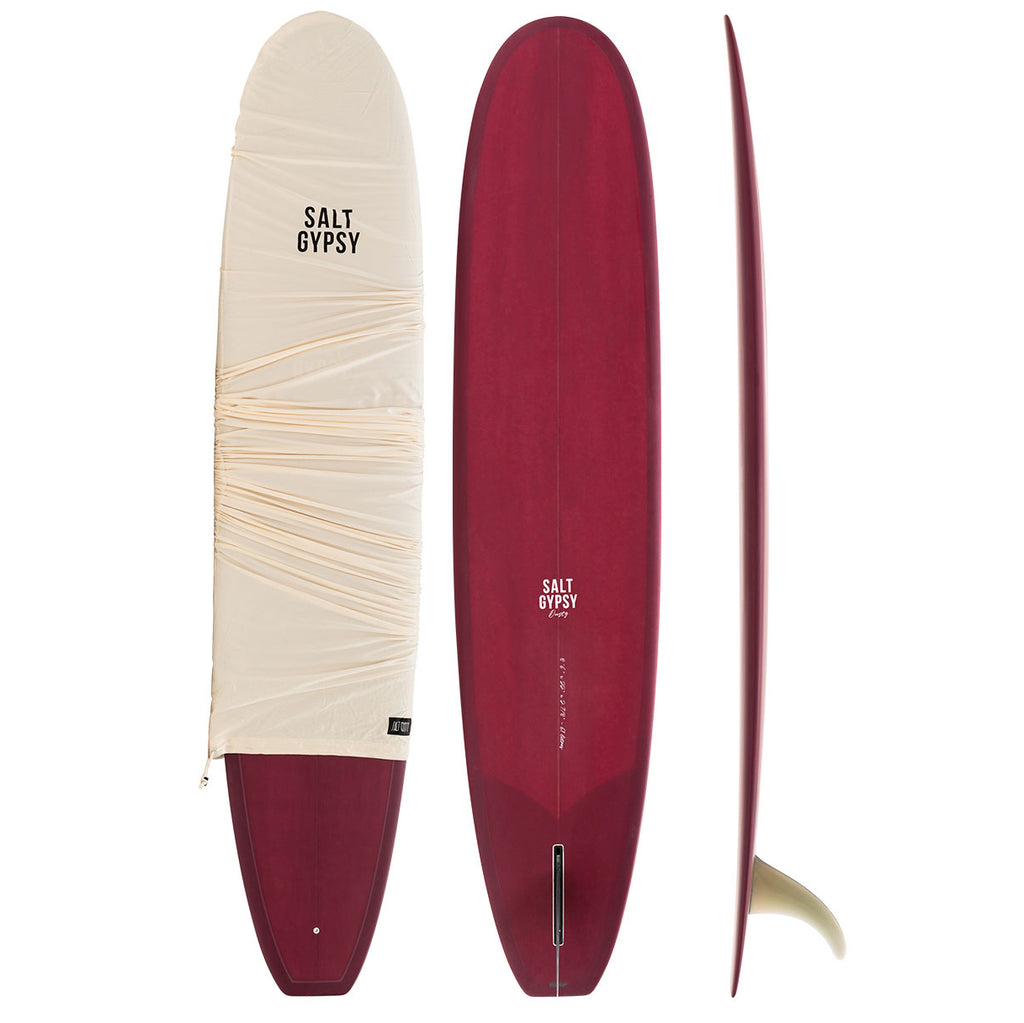 Salt Gypsy Dusty Retro 8'6 Longboard Olive Tint