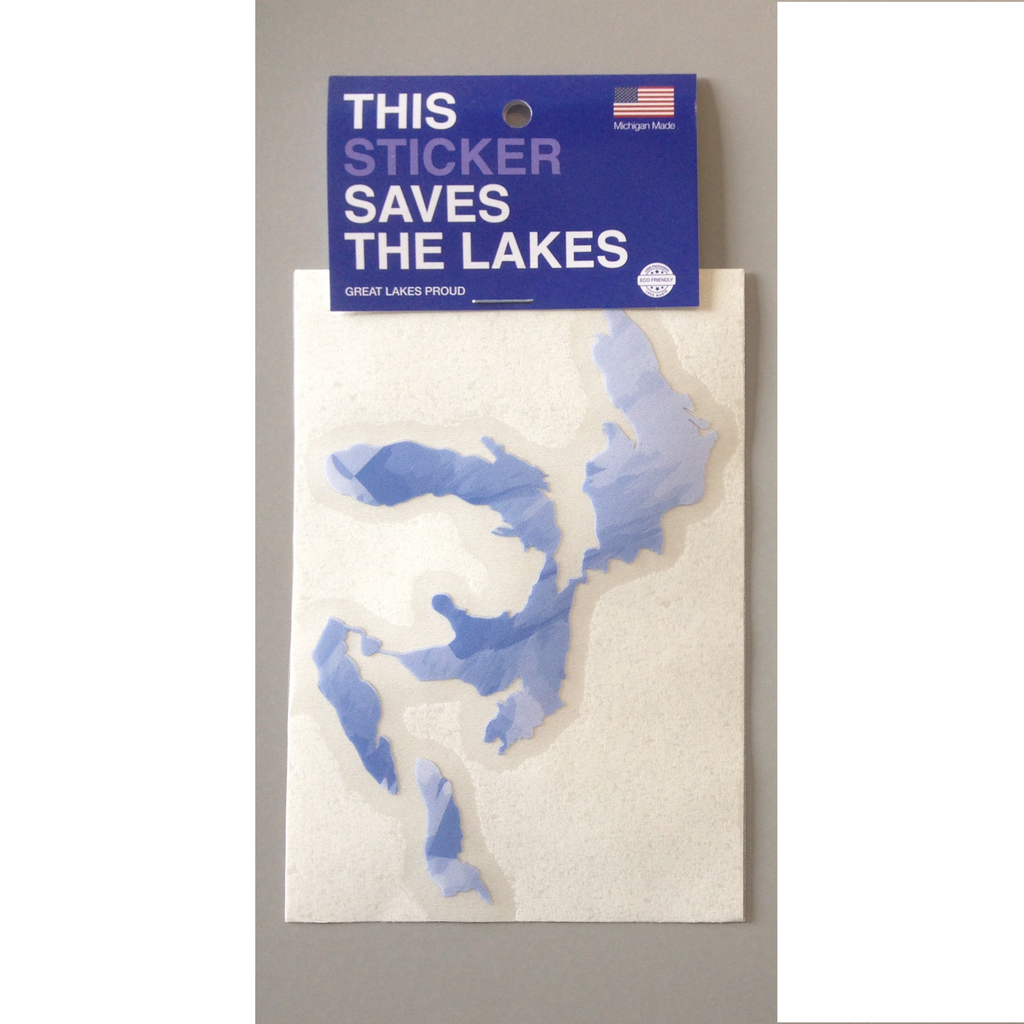Stickers - Great Lakes Proud - Specialty 'Multi-colour'- Standard size - Surf Ontario