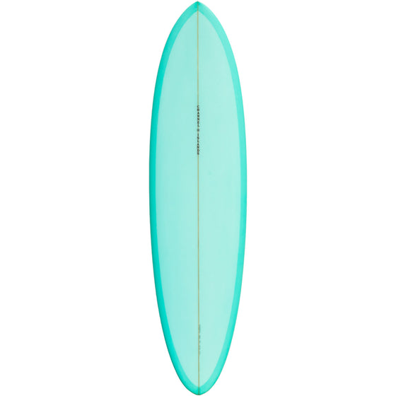 Channel Islands - MID 6'8 Green *Preorder for Spring* 🚚