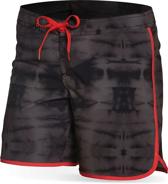 "Dakine Women's walk short Freeride 7"" Black Tie Dye - Surf Ontario"