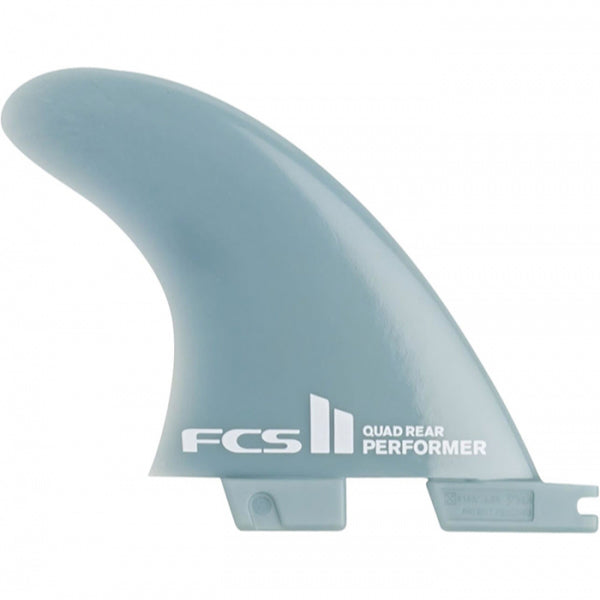 FCS II Performer Glass Flex Quad Rear Fin Set-Medium