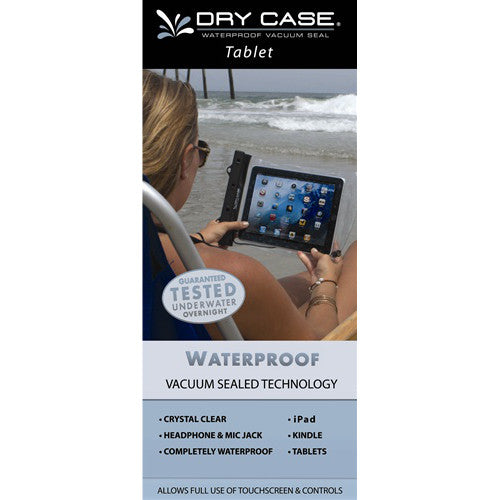 Waterproof electronic gear - Tablet/iPad covers DryCASE