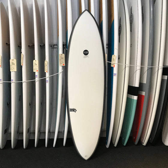 Haydenshapes 6'6 HS Hypto Krypto FF - 5 Futures - clear tint