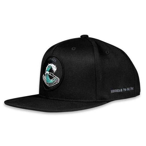 CAPS - Future Fin Barrels to The Grave Patch Flex Fit Snapback - Surf Ontario
