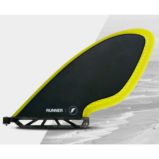 Futures - SUP Carbon/Yellow 58.9 Runner - Surf Ontario