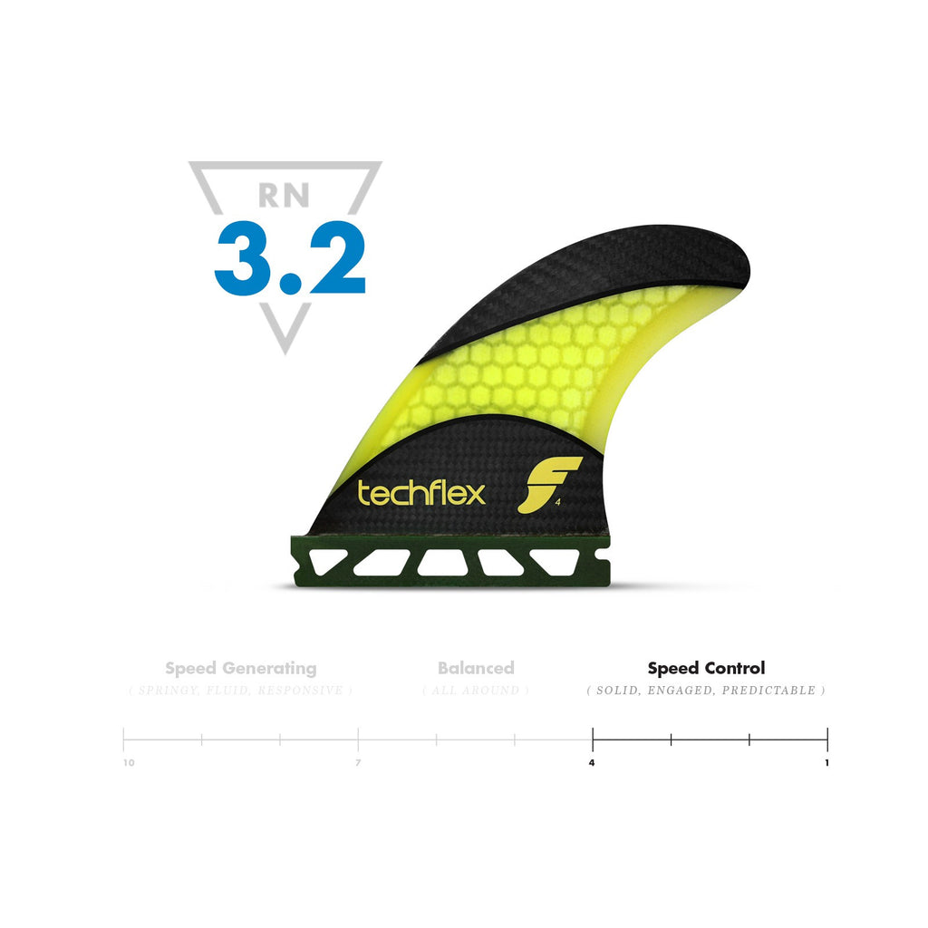 Futures Thruster - F4 Techflex (Small) - Surf Ontario