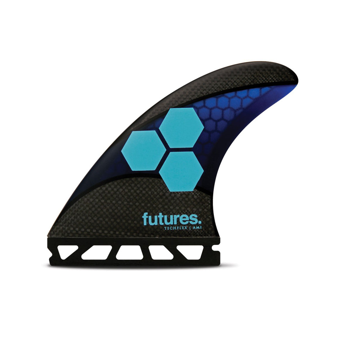 Futures - THRUSTERS - AM1 - Blue/Cyan - Techflex