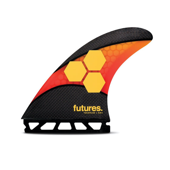 Futures - THRUSTER - AM2 - Techflex - Orange/Red