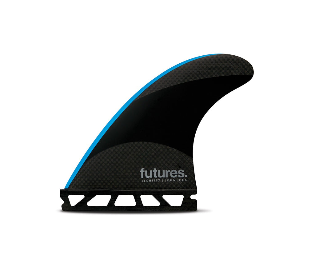 Futures THRUSTER - John John Techflex (Small) JJ - Black/Neon Blue