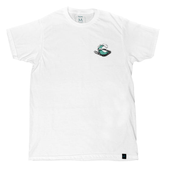 Future Fins - Futures Barrels To The Grave T-Shirt - White