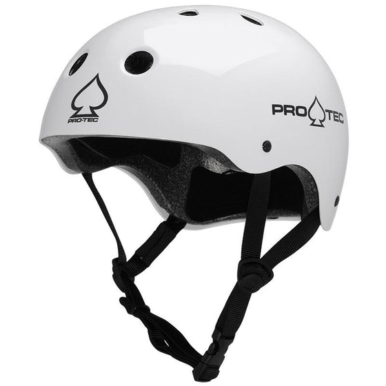 Protective Gear - Pro-tec Helmet - Classic Certified Gloss White - L