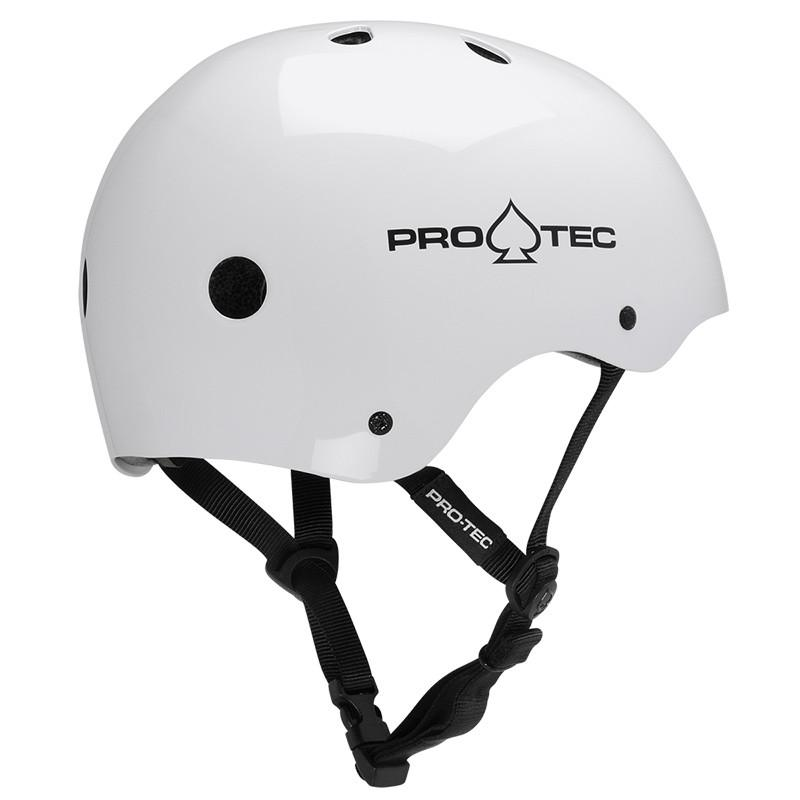 Protective Gear (Skate) - Pro-tec Helmet - Classic Certified Gloss White