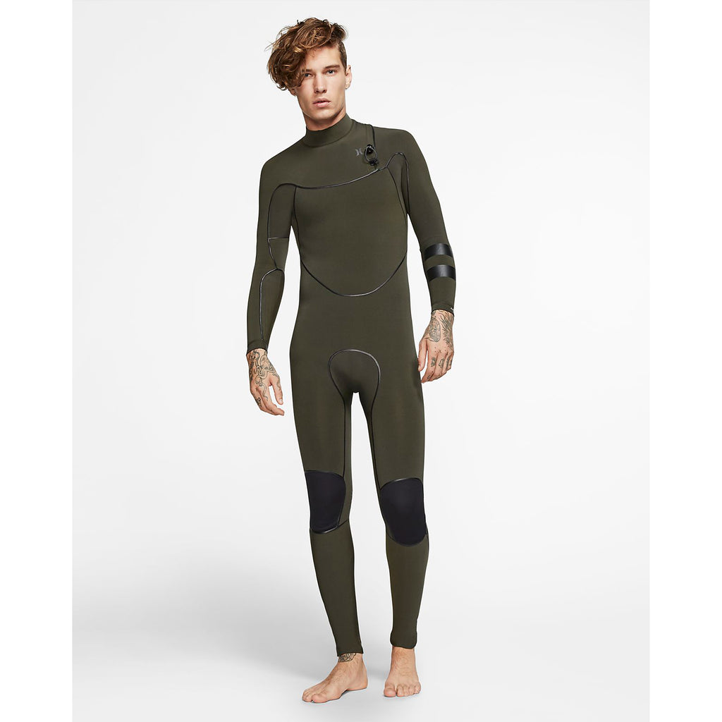 3/2mm Men's Hurley Advantage Max Zipperless Fullsuit - SEQUOIA 355