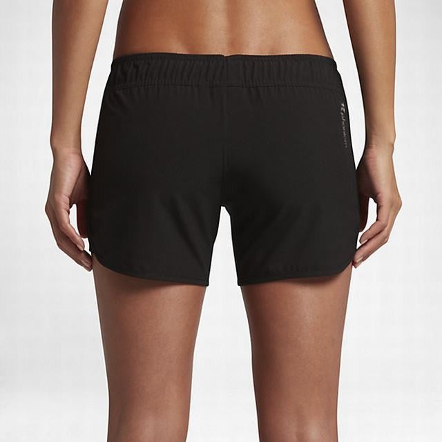 Hurley Women's Walkshort/Boardshort Phantom Solid 5 Inch Black