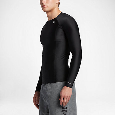 Hurley Pro Men's Compression Long Sleeve Rashguard