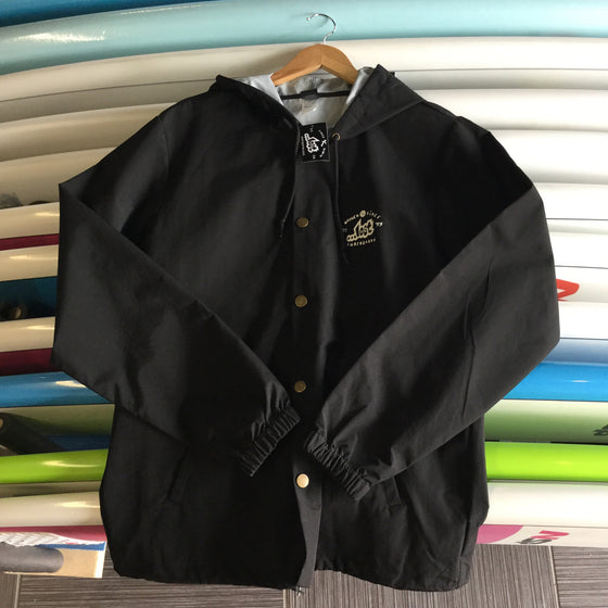 Hooded Rain Jacket - Lost Highwater - Surf Ontario