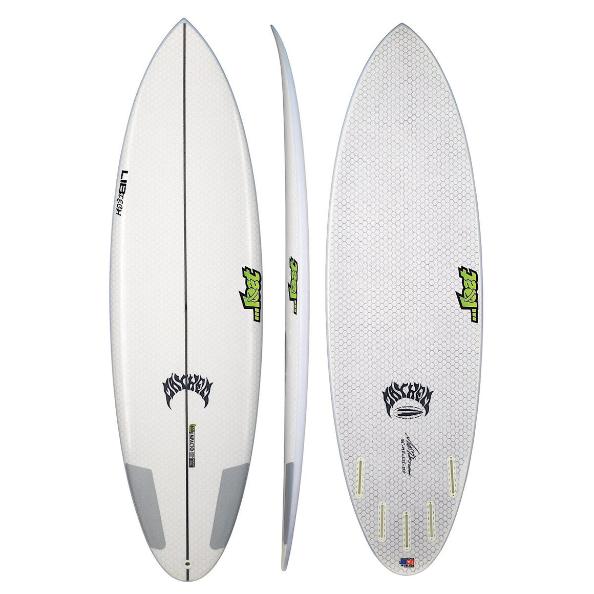 Libtech - Lost Quiver Killer 6'2 (FCSII compatible)