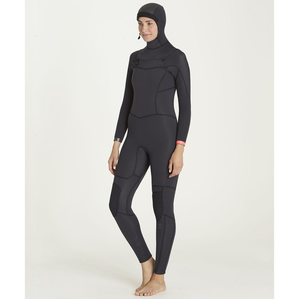 5/4 Women's Billabong Synergy Hooded Fullsuit - Surf Ontario
