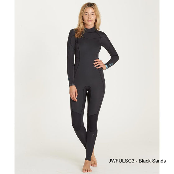 0610567411 3 2 Women s Billabong Synergy Back Zip fullsuit - Surf Ontario