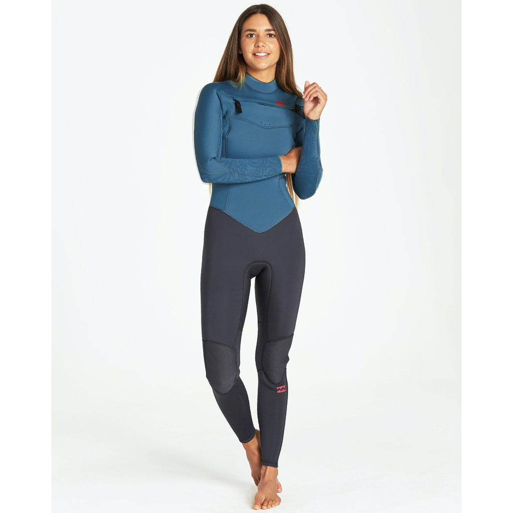 3/2 Women's Billabong 302 Furnace Synergy Chest Zip