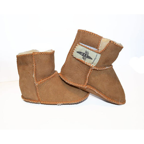 Surfer Baby - Sheepskin Booties - Surf Ontario
