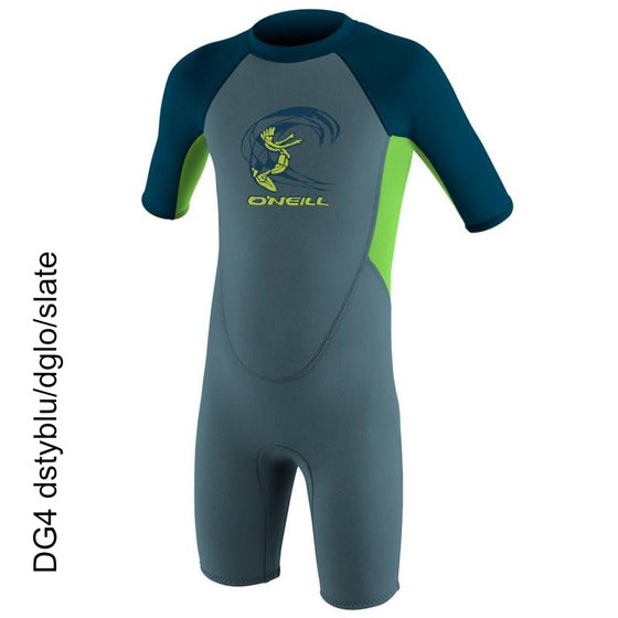 2mm Springsuit Toddler O'Neill Reactor Spring 4867