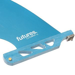 Futures - Longboard Glass Single Fin - 7.5' Cutaway Blue - Surf Ontario