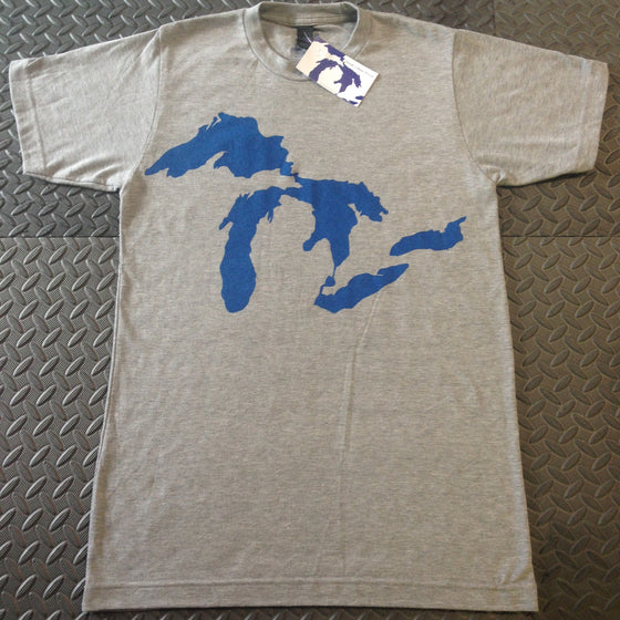 T-shirts - Unisex - Great Lakes Proud Original Soft Tee - Surf Ontario