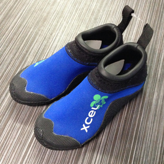 Booties 1mm Toddler/Kids XCEL Reefwalker - BLK/ROYAL BLUE - Surf Ontario